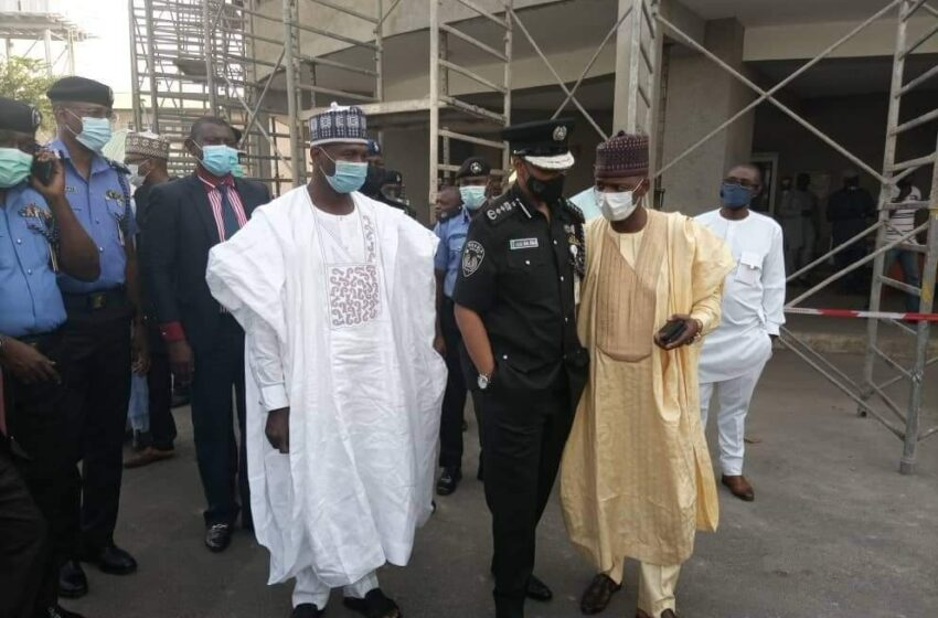 New IGP, Baba pledges commitment to police welfare, to work with NPTF