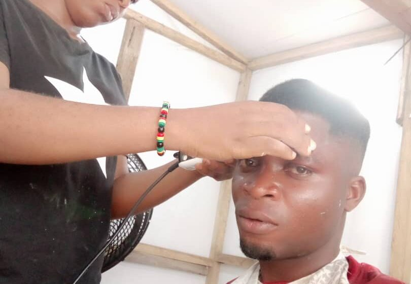 Why I chose barbing as my career – Angel Okoli