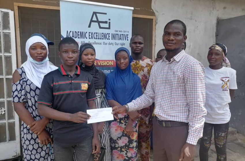 AEI presents free UTME forms to indigent students