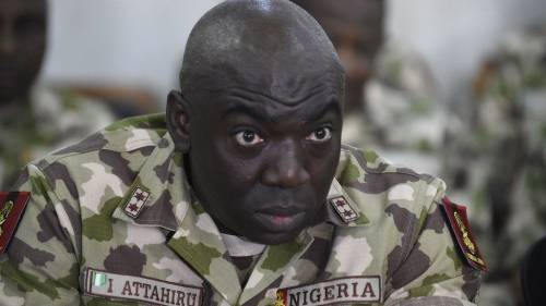 Nigeria's army Chief, Attahiru dies in plane crash