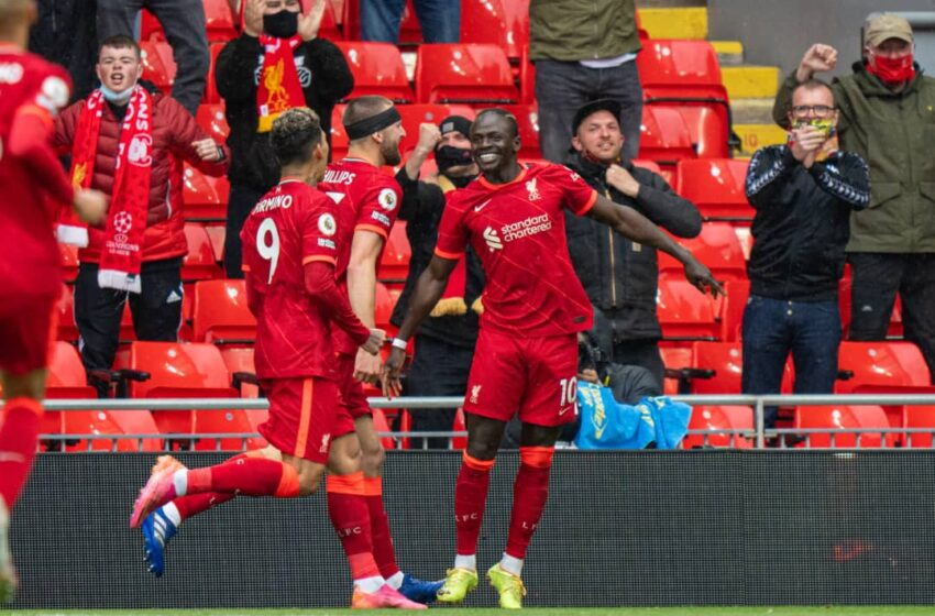 Mane at the double as Liverpool claim third