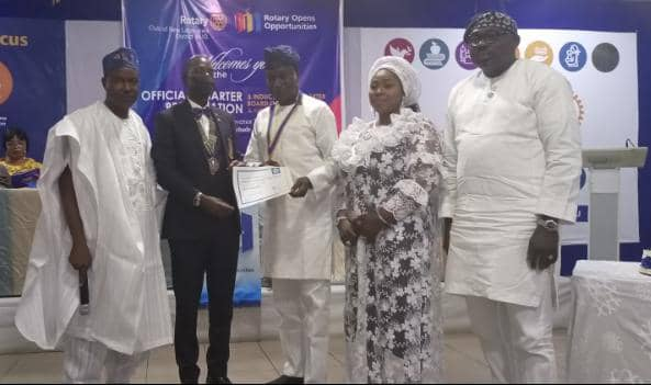 Rotary International forms new club in Lagos