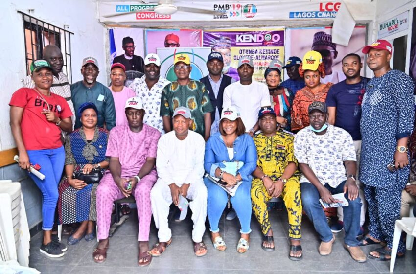 Oshodi-Isolo LG Election: Kendoo inaugurates campaign group, directorates