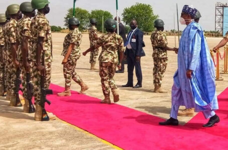Buhari orders military, security agencies to clear terrorists