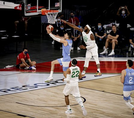 Basketball: Again, D'Tigers beat world number 4, Argentina