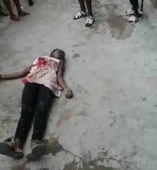 [VIDEO] One killed as Police shoot to disperse Yoruba Nation agitators at Ojota, Lagos