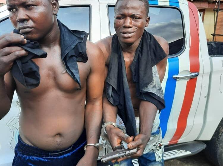 Two robbery suspects nabbed at Oshodi