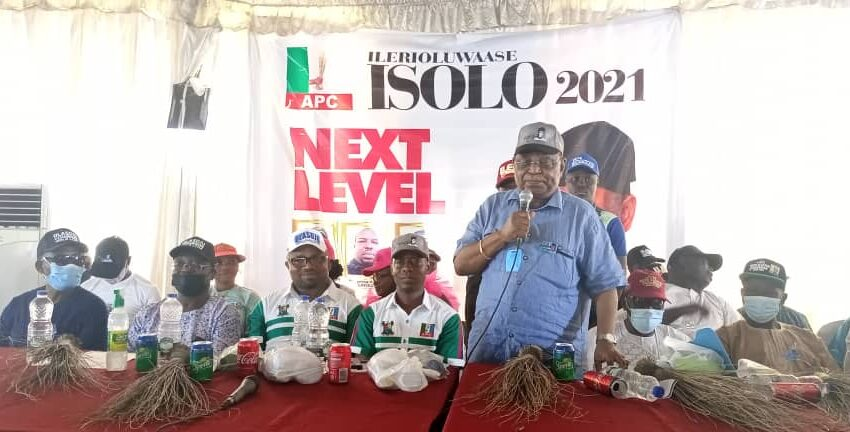 K1, Pasuma, party leaders rally supports for Olasoju as Isolo APC rounds off campaign