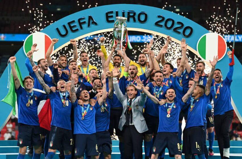 Italy win Euro 2020