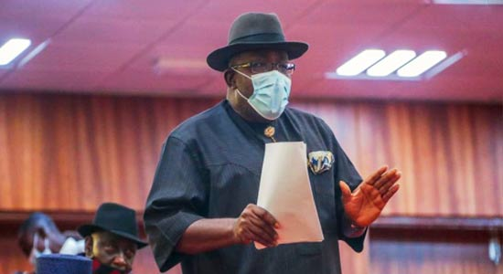 Dickson seeks review of PIB, urges Buhari to withhold assent