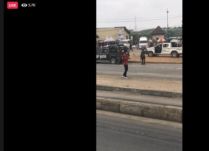 Yoruba Nation: Police takes over protest venue
