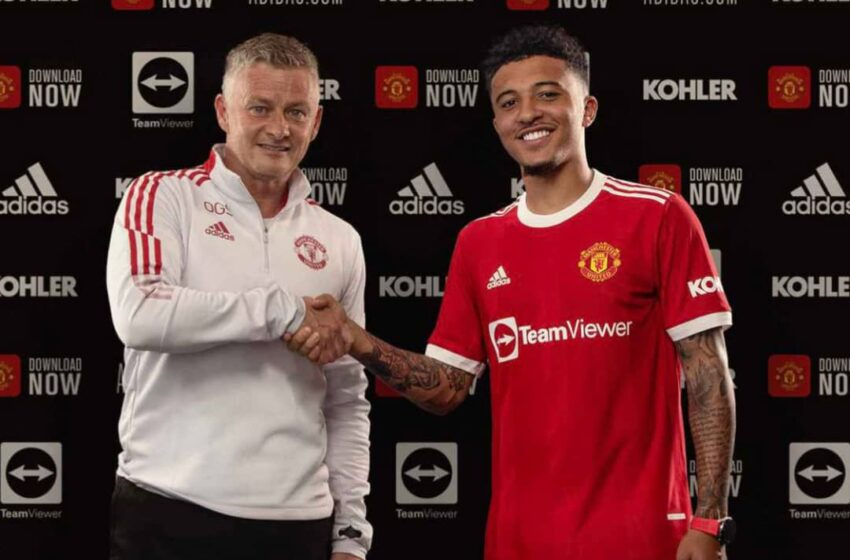 Official: Manchester United sign Sancho