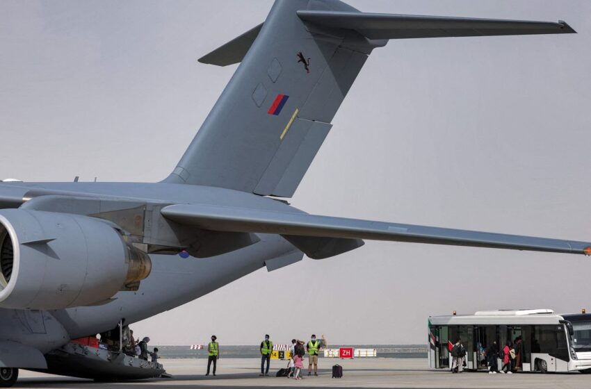 US asks American airlines to aid Afghan evacuation