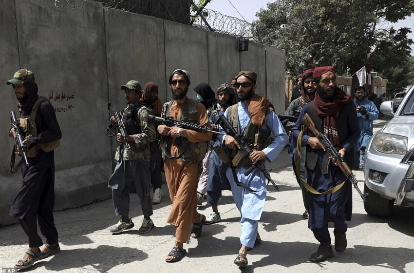 Taliban militants raid homes of at least 4 media workers in Afghanistan