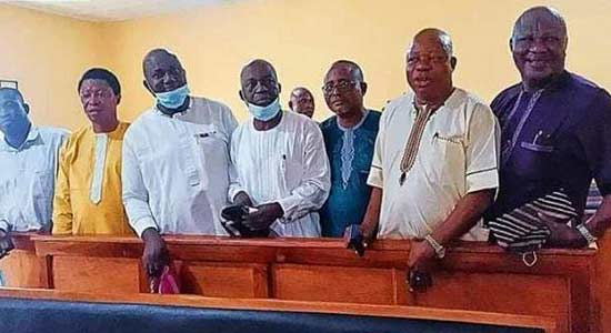 Osun APC crisis deepens, Aregbesola loyalists arraigned in court for assault, conspiracy, others