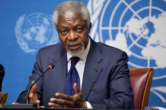 UN honours late Kofi Annan, says world lost its moral voice