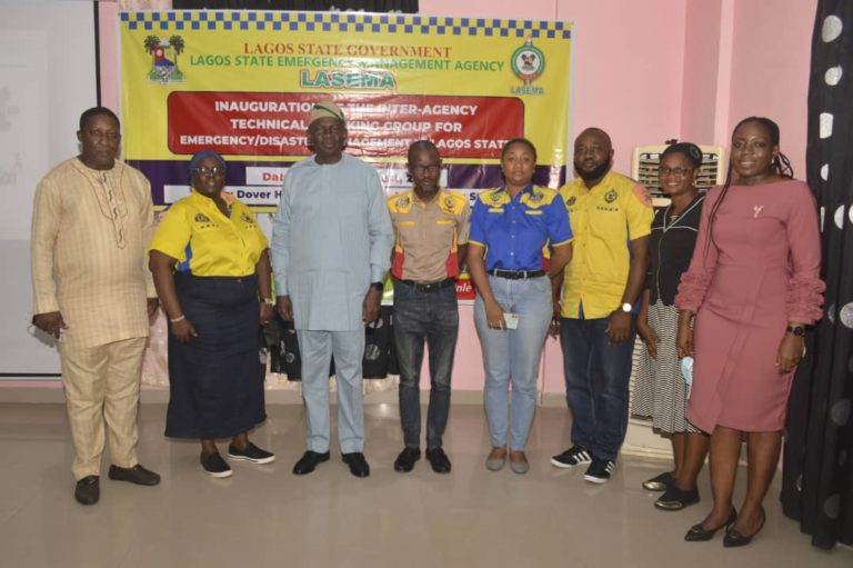 LASEMA sets up inter-agency working group for emergency mitigation