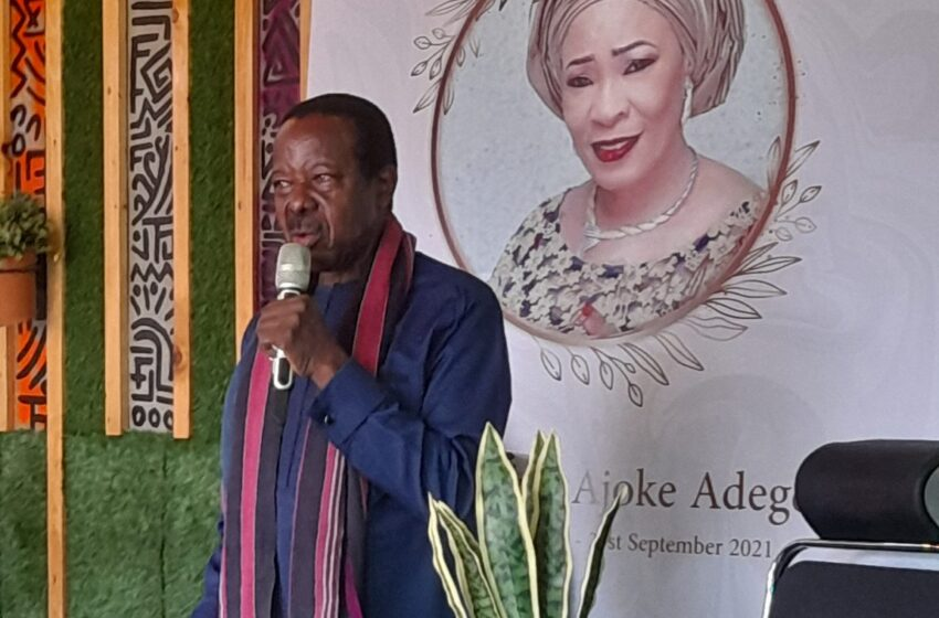 Late Sunny Ade's wife, Hon. Risikat Adegeye to be buried on September 29