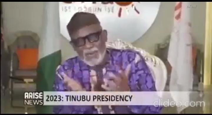 [Video] Watch what Akeredolu says about Tinubu, 2023