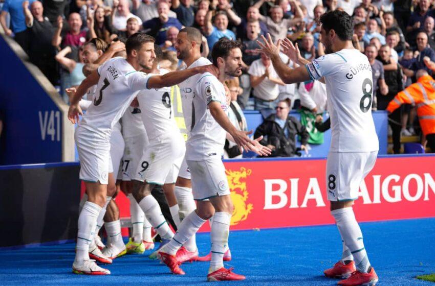 Bernardo seals third straight Man City win
