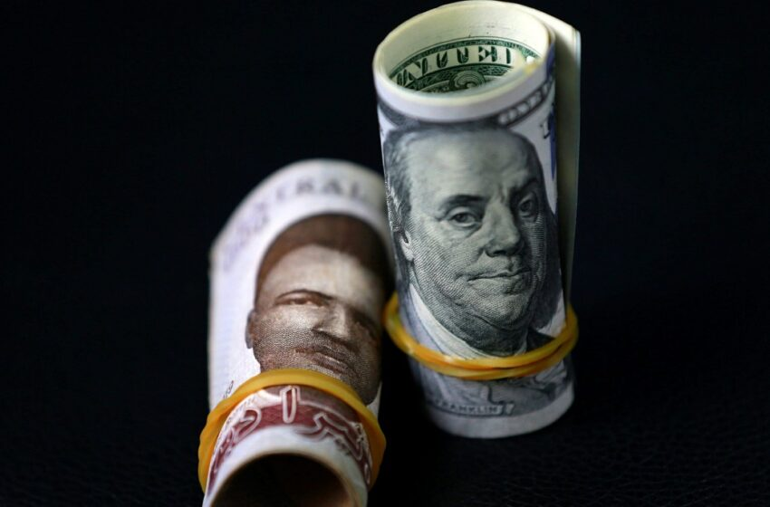 Naira exchanges 580/$, pound sterling 780 at parallel market