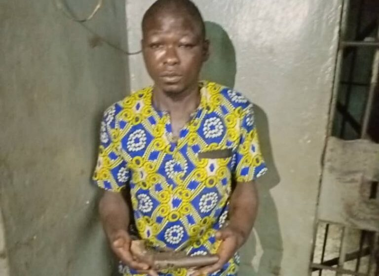 Suspected armed robber arrested in Lagos
