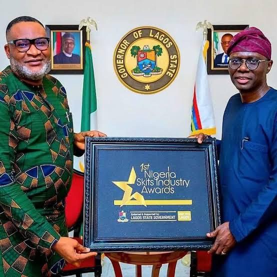 Sanwo-Olu endorses Nigeria Skits Industry Awards